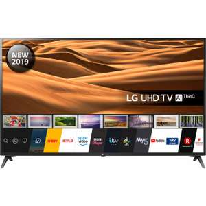 """LG 70UM7100PLA 70"""" Smart 4K Ultra HD TV with HDR10, Freeview Play + FREE LG 32LM630BPLA 32"""" Smart TV,HDR10 £999 ao.com"""