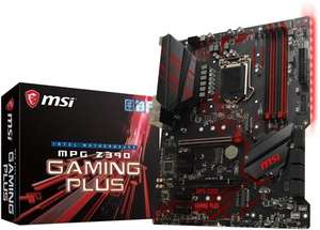 MSI MPG Intel Z390 GAMING PLUS 9th Gen ATX Motherboard £109.99 at Box