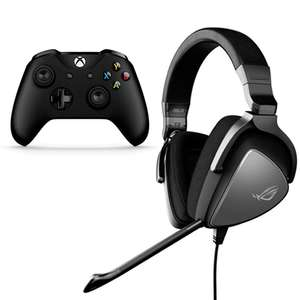 Asus ROG Delta Core Gaming Headset Works with Xbox One / Switch / PC / PS4 + Free Xbox One Controller £89.99 Delivered @ Box - Headset