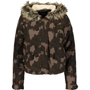 Only Womens Camo Parka Coat now £14.99 @ TK Maxx (£1.99 C&C / £3.99 delivery)