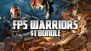 FPS Warriors Dollar Bundle (4 Steam Games Including Sniper: Ghost Warrior Trilogy, Alien Rage and more) 95p @ Fanatical