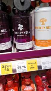 Whitley Gin £8.25 instore @ Tesco (Rugeley)