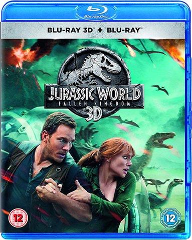Jurassic World: Fallen Kingdom (Blu-Ray + 3D) 14p + £2.99 delivery @ Amazon
