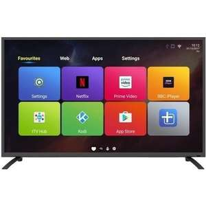 "electriQ 55"" 4K Ultra HD LED Android Smart TV with Freeview HD - £297.97 @ Laptops Direct"
