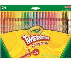 Crayola Twistables - 24 Pack 55p instore @ ASDA, Northwich.