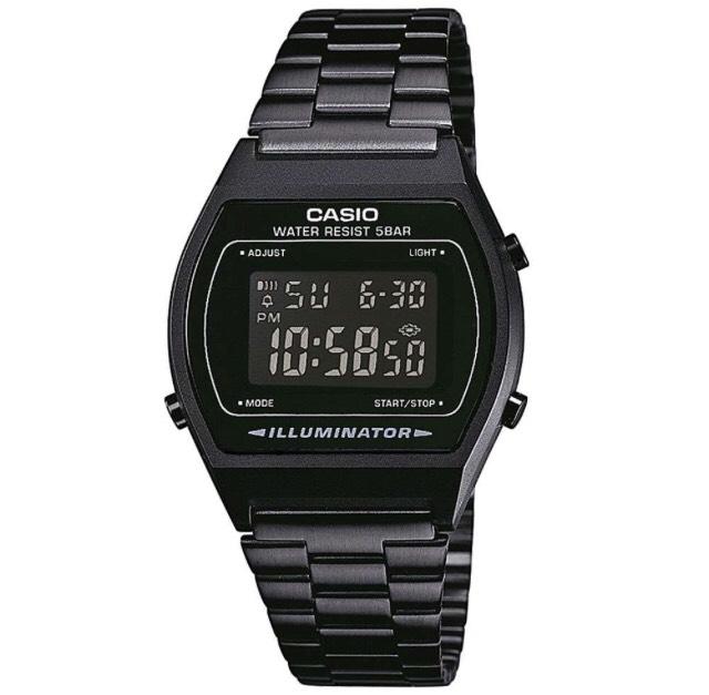 Casio Digital Watch All Black £24.99 delivered £24.99 @ 7DayShop
