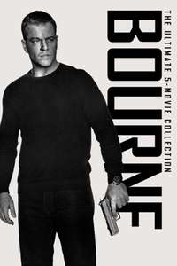 Bourne 5 Film Collection (4 in 4K!) £12.99 @ iTunes