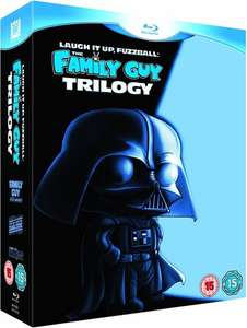 PreOwned The Family Guy: Star Wars Trilogy (Laugh it up Fuzzball) 6-Discs in Total Blu-Ray Boxset - £5 @ CEX In-Store or £6.50 Delivered