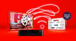 Virgin Media 100mbps Broadband + Phone - £24.75pm x 12 Months - Total Cost: £297 (£14.75 after Quidco cashback)