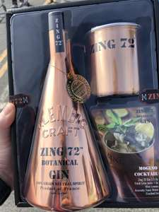 Zing 72 Botanical Gin Gift Pack (Gin + Mug) - £22.78 at Costco