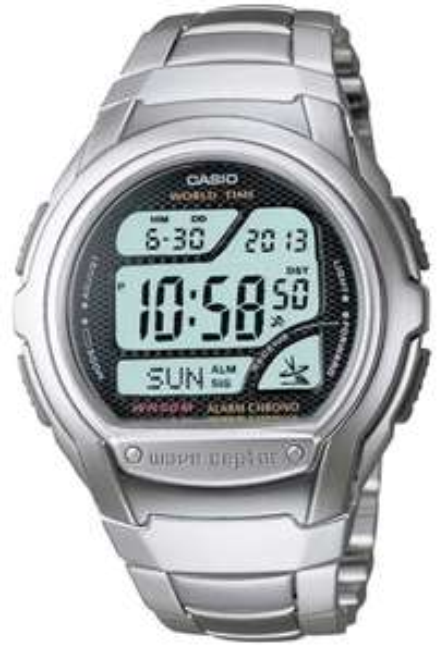 Casio Digital LCD Watch Waveceptor with Atomic Radio Time, Stopwatch, Alarm etc. - WV-58DU-1AVES -£24.99 @ 7dayshop
