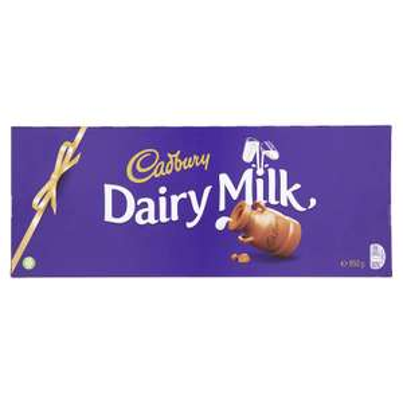 Cadbury Dairy Milk Chocolate Bar, 850g  £6.38  (Amazo Pantry) + £3.99 delivery