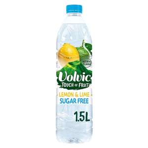 Volvic Touch Of Fruit 1.5L (All Varieties) £0.53 @ Tesco