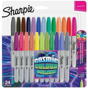 24 Sharpie fine markers, including 10 limited edition Cosmic Colours, £8.99 at B&M - Filton