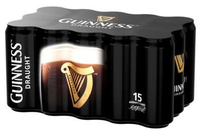 Guinness Draught 15x440ml for £12 @ Asda