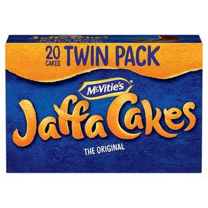 Twin Pack McVities Jaffa Cakes Now 90p @ Tesco
