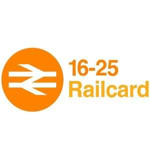 £10 free Amazon voucher from VoucherCodes Student  when you sign up for 16-25 Railcard