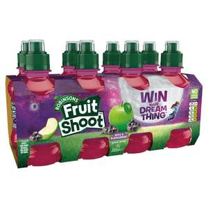 Robinsons Fruit Shoot No Added Sugar 8x200ml All Varieties for £1.50 @ Tesco