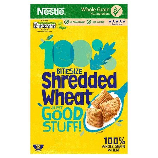 Shredded Wheat Bitesize 500g, Now £1.35 @ Tesco