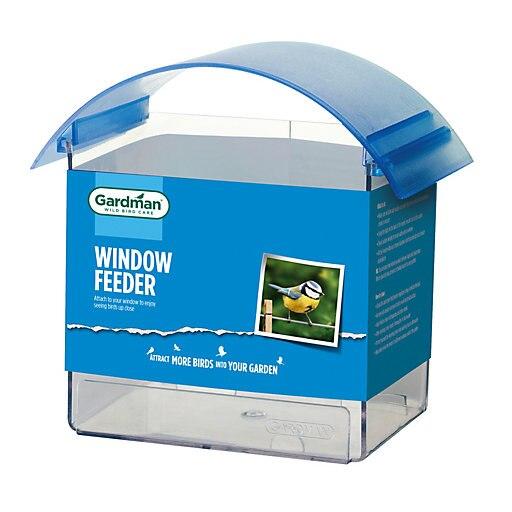 Gardman Window bird feeder  (free C&C) @ B&Q - £3.00.  1 Year Guarantee