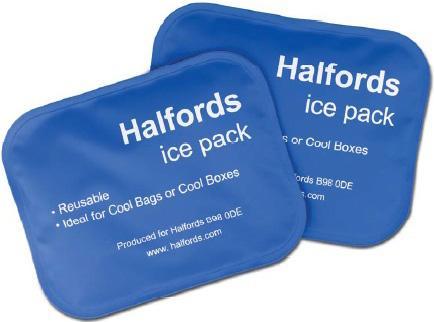 Halfords Medium Ice Pack x2 for £1 (free c&c)