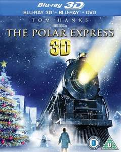 The Polar Express 3D + Blu-Ray + DVD (Pre-Owned) £5 In-Store, £6.50 Delivered @ CEX