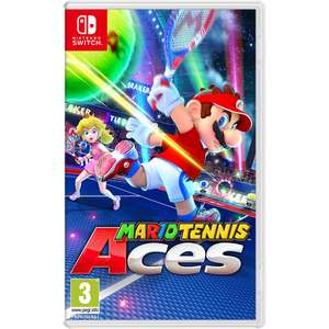Pre-Owned Mario Tennis Aces on Nintendo Switch for £29.99 Delivered or Free C&C @ Game