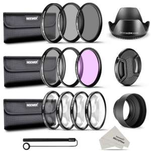 Neewer 58MM Complete Lens Filter Accessory Kit for Canon Rebel Cameras - See List in OP  - £12.97 Sold by Nashes Camspace and FBA