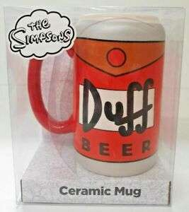 Official Simpsons Duff Beer Ceramic Mug £1!! @ Primark reduced from £5