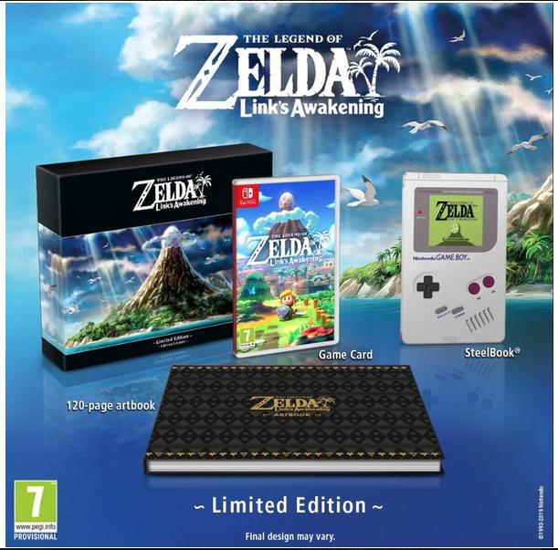 The Legend of Zelda Link's Awakening Limited Edition Nintendo Switch Game £89.99 @ 365 games