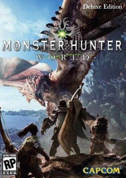 Monster Hunter World Deluxe Edition PC £22.99 CDKeys