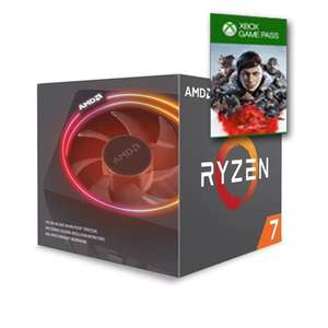 AMD Ryzen 2700X With Cooler - 8 Core / 16 Thread CPU at 3.7Ghz Base - 4.2Ghz Max + 3 Month Xbox Game Pass - £209.99 Delivered @ Box