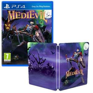[PS4] MediEvil Inc. Steelbook - £20.95 - TheGameCollection