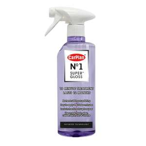 Carplan No1 Super Gloss 600ml - £7.99 delivered @ Euro Car Parts