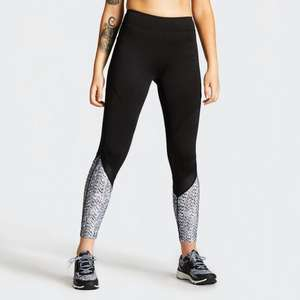 Women's Regenerate Printed Sports Leggings Now £10.45 + £3.95 delivery @ Dare2B