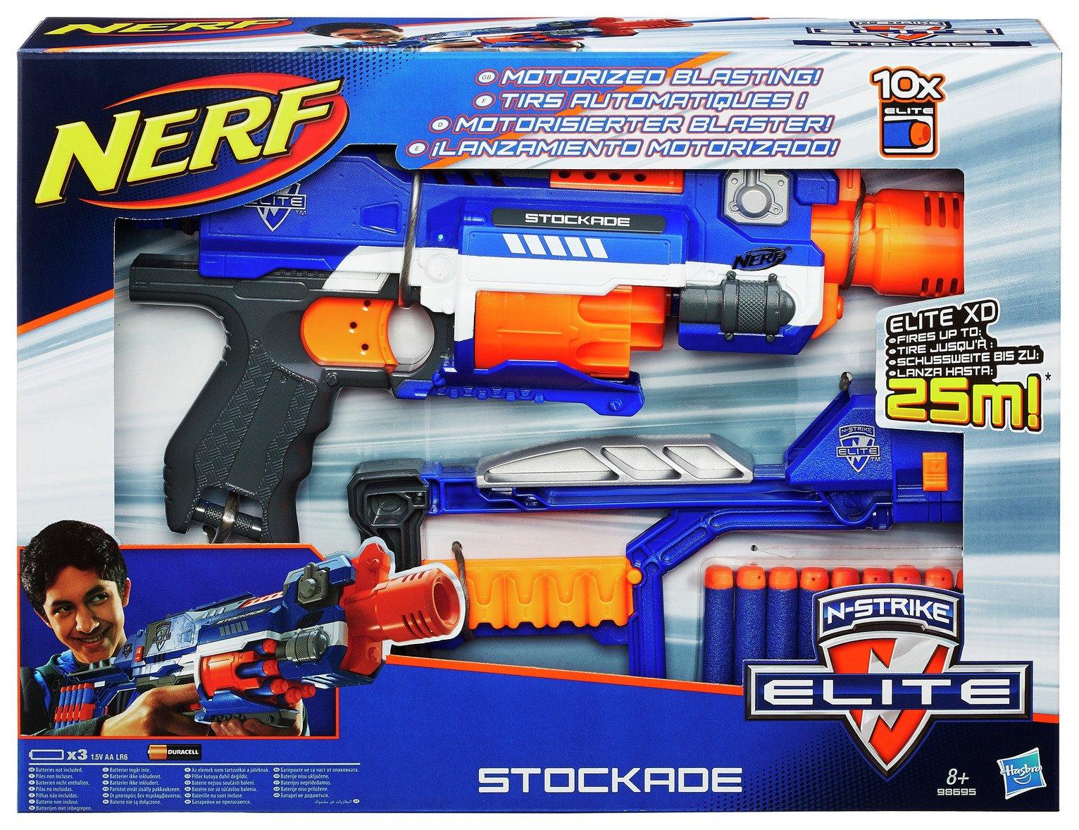 Nerf N-Strike Elite Stockade Blaster £12.99 @ ARGOS