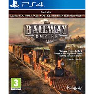 Railway Empire (PS4) £5.95 / Constructor (PS4) £4.95 Delivered @ The Game Collection
