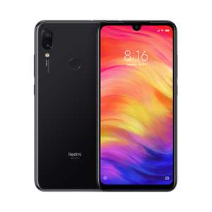 Redmi Note 7 Black or Blue 4GB+64GB £154 from Mi Store direct 2 year warranty