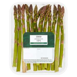 Tesco 100g Asparagus Tips only 59p
