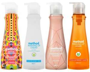 Method Washing Up Liquids 532ml (All Varieties) / Method Cleaning Products - £2 (Any 3 for £6) @ Tesco (from 18/09)