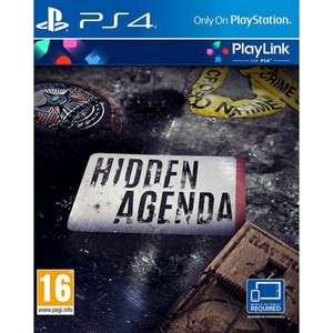 [PS4] Hidden Agenda (Playlink) £1.95 delivered @ The Game Collection