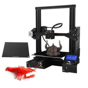 Creality 3D Ender 3X Upgraded High-precision DIY 3D Printer Kit £145.42 Delivered (EU Shipping) @ Tomtop
