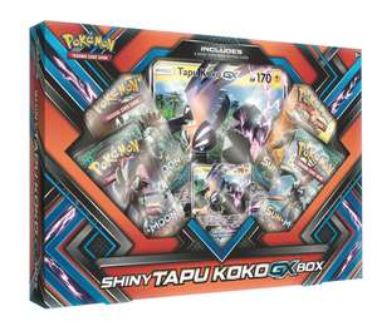ASDA Gengar EX and Shiny Tapu Koko GX Pokemon box £12 @ Asda instore Ellesmere Port
