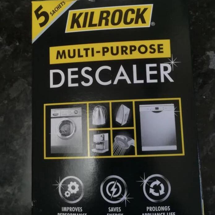 Kilrock Multi Purpose Descaler x 5 sachets - Aldi Worcester - 9p