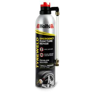 Holts 400ml Tyreweld Puncture Repair £3.50 + £2 Click & Collect @ Wilko