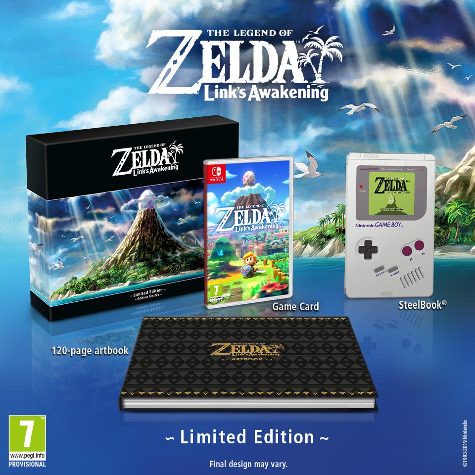 The Legend Of Zelda Link's Awakening Limited Edition (Nintendo Switch) £69.99 Nintendo Shop