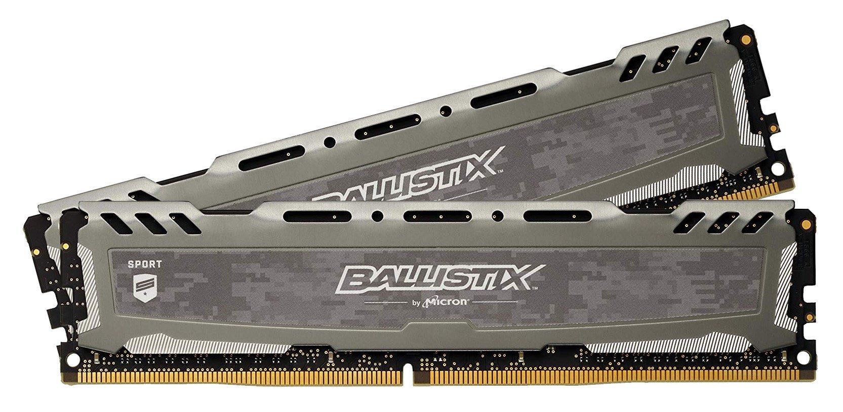 Ballistix Sport LT 16GB (2x 8GB) 3200MHz DDR4 RAM £68.21 at CCL