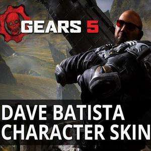 FREE Gears 5 Dave Batista Skin (Gears Of War) - XBox One & PC