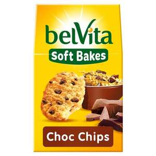 Belvita Soft Bakes Chocolate Chip/Red Berries/Blueberry/Golden Grain 250G £1.39 @ Tesco