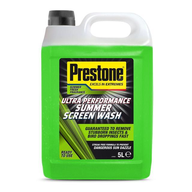Prestone Ultra Performance Summer Screen Wash 5L  £1.25 Morrisons instore